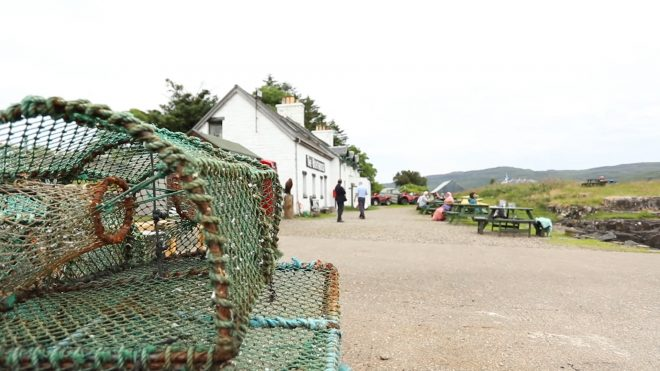 The Boathouse Restaurant on Ulva