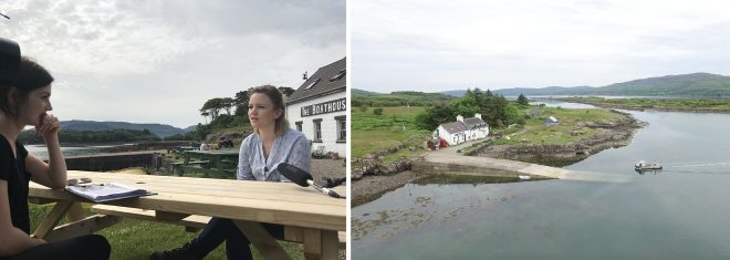 Interviewing Rebecca Munro on Ulva.