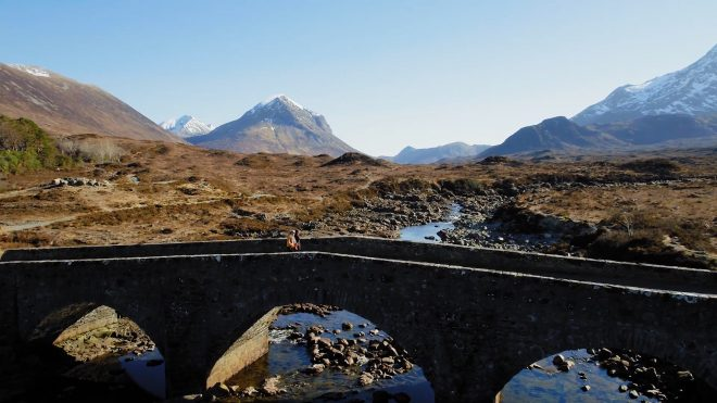 The bridge over the River Sligachan
