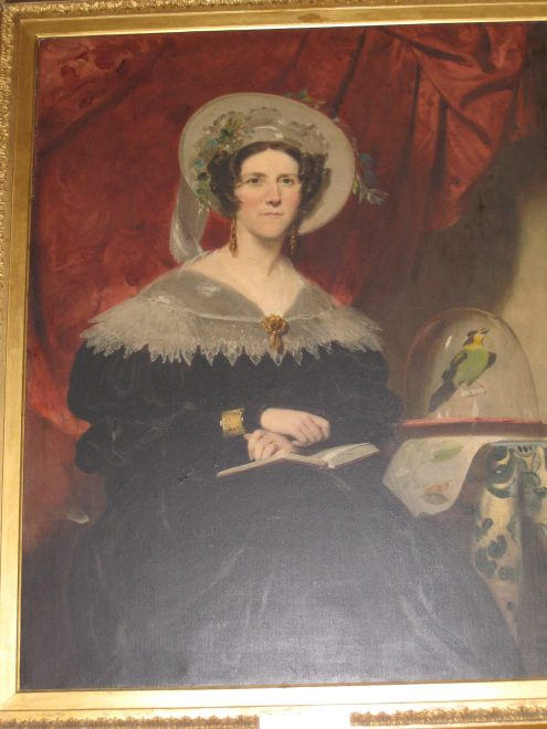 Portrait of Lady Dalhousie by Sir John Watson Gordon, 1837 Sourced and reproduced with permission from a private collection.