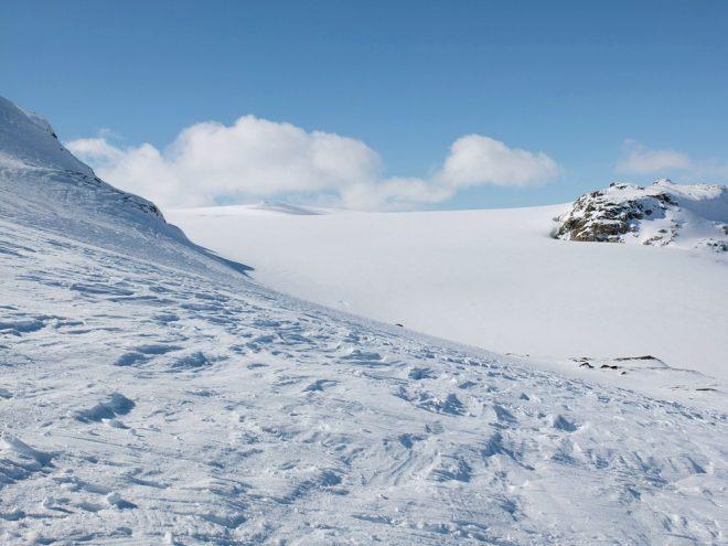 Hardangerjøkulen glacier near Finse, Norway, aka The Ice Planet of Hoth. Photo © oaø Flickr - CC BY-NC 2.0