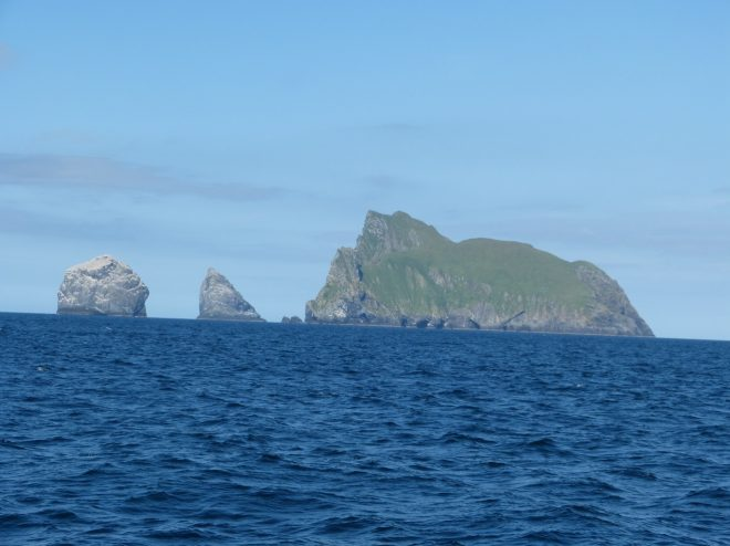 St Kilda includes four islands: Soay, Hirta, Dun and Boreray. Image: Fiona Ware