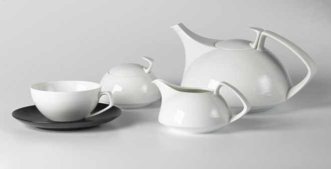 Teaset attributed to Walter Gropius