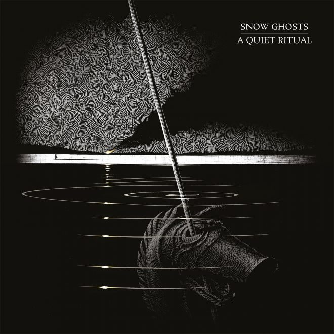 Artwork for the Snow Ghosts' album A Quiet Ritual