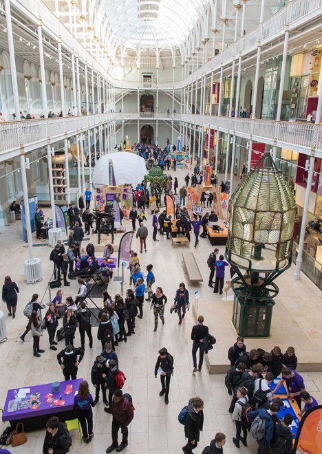 Careers Hive at the National Museum of Scotland © Edinburgh Science Festival