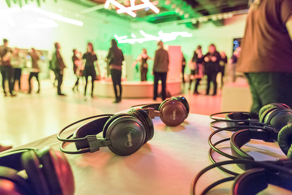 Silent Disco at Jacobites Late 2017