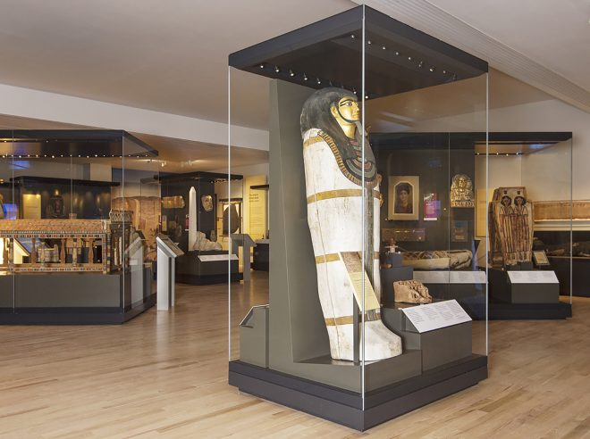 Ancient Edgypt Rediscovered gallery at the National Museum of Scotland