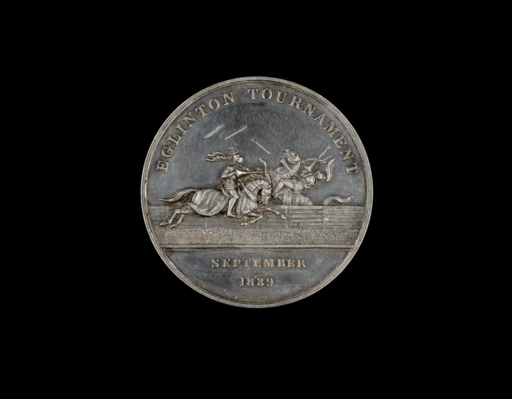 Commemorative medal of the Eglinton tournament, Sept 1839