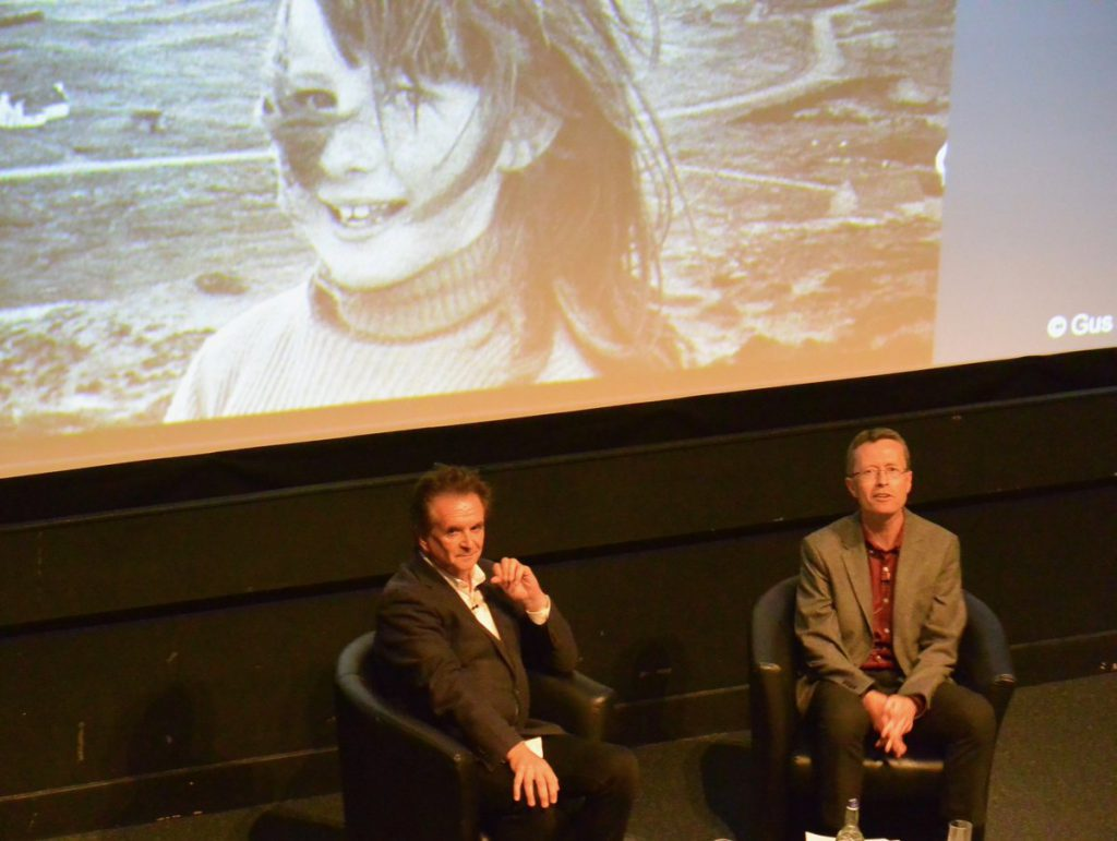 Donnie Munro and David Worthington discuss Runrig and Highland history at the National Museum of Scotland