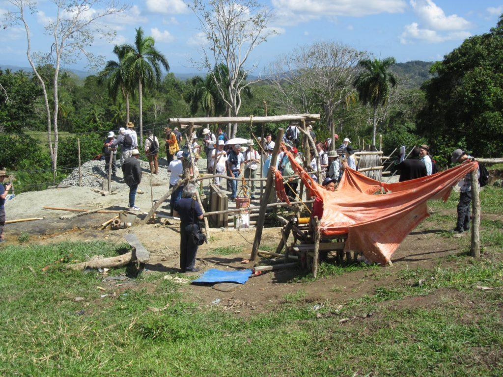 Amber mine at Zona San Rafael, El Valle