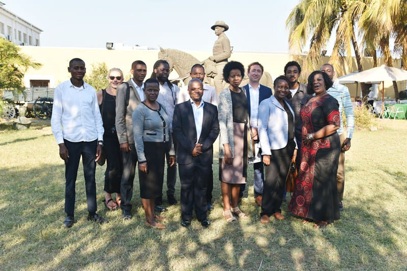 The project partners at the launch event, Fortress Museum, Maputo, July 2019