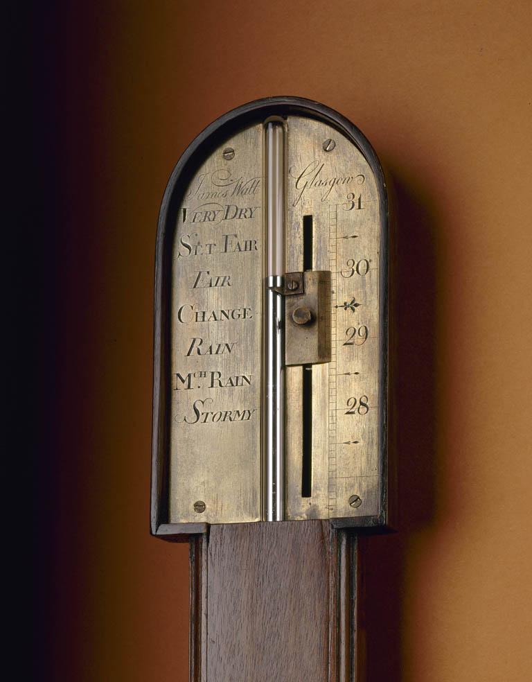 Watt's cistern tube barometer.
