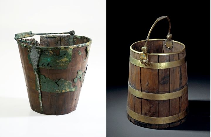 Buckets from Hopperstad and Oseberg