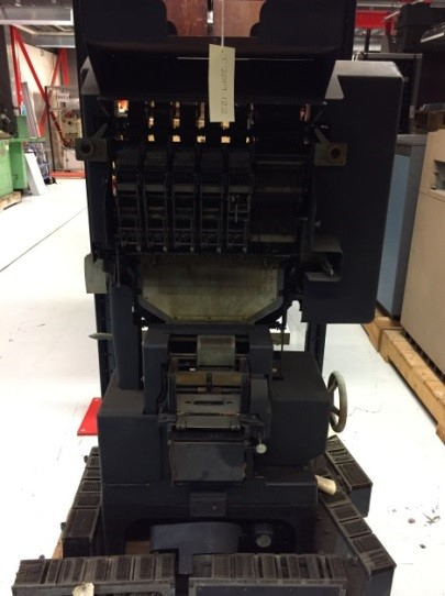 T.2019.122: Powers-Samas Tabulator, 65 column, now accessioned into the collection.