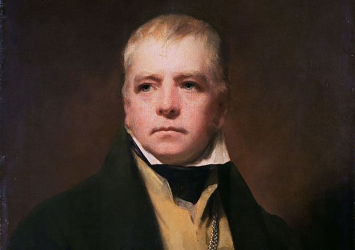Painting of Sir Walter Scott