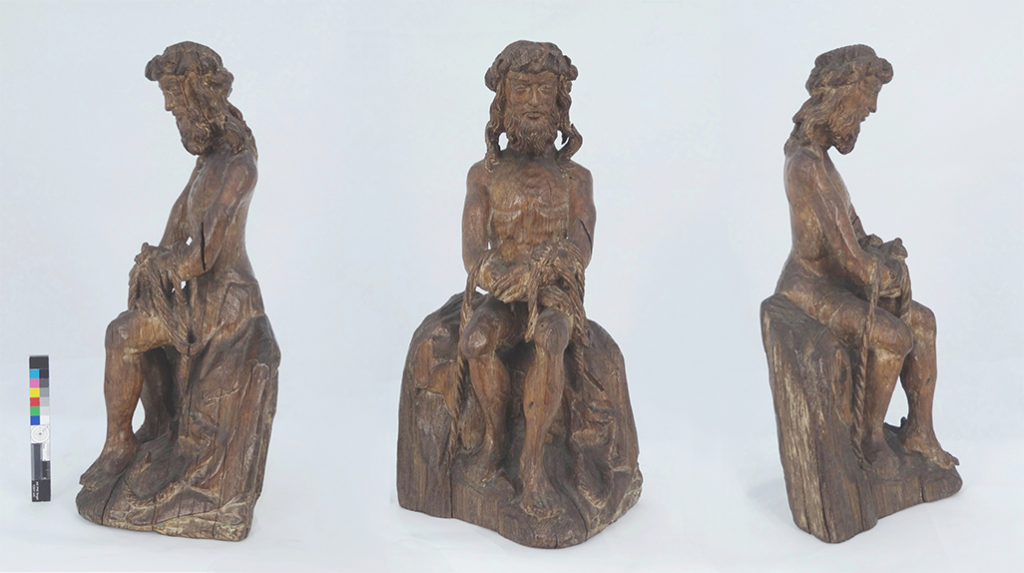Man of Sorrows before conservation