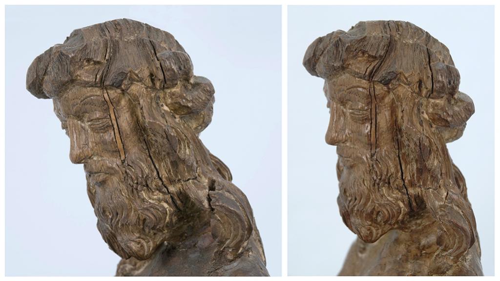 Man of Sorrows head