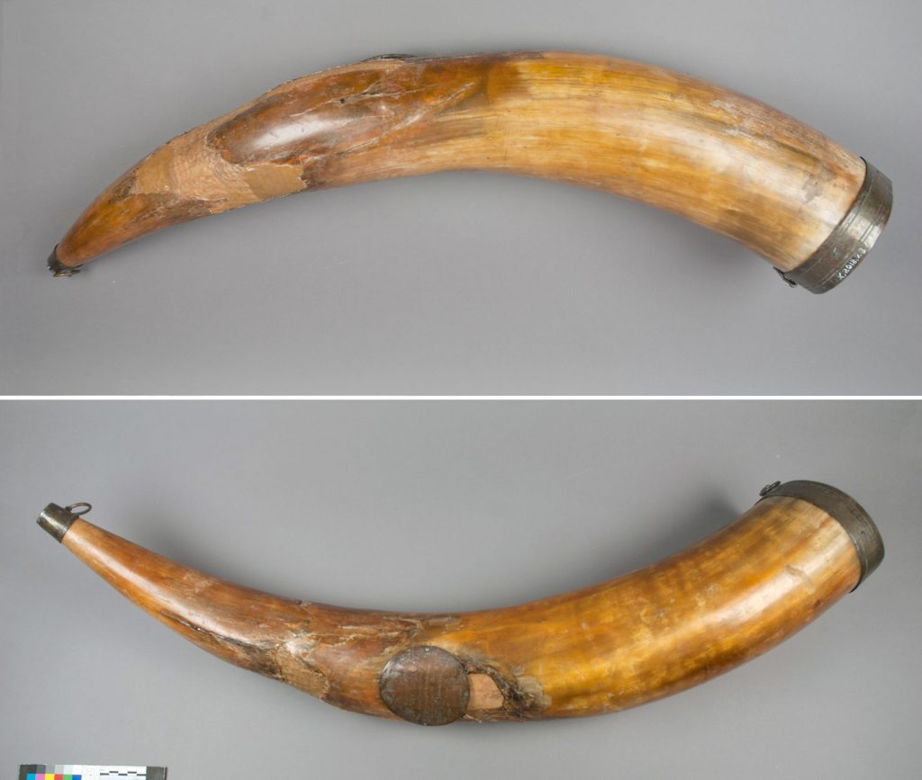 Conservation of the James Bruce drinking horn
