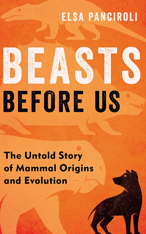 Book cover with Beast before us on it.
